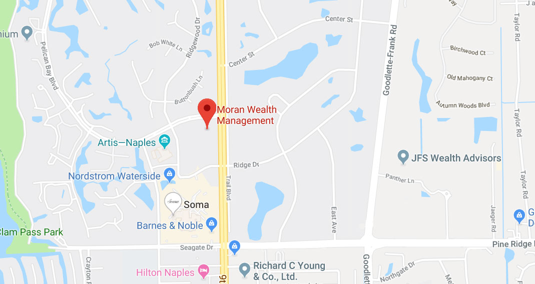 Map Direction to Moran Wealth