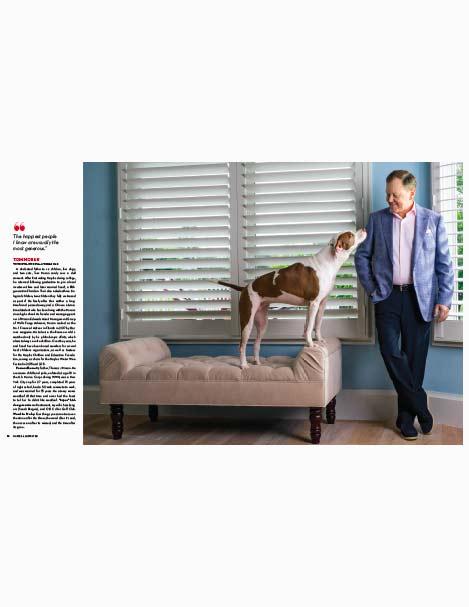 Tom Moran Super Man - him and his dog